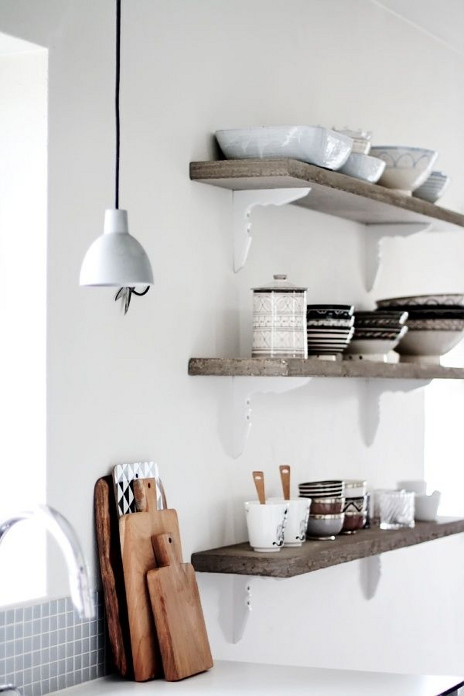 Pinterest - Kitchen shelves, scaled
