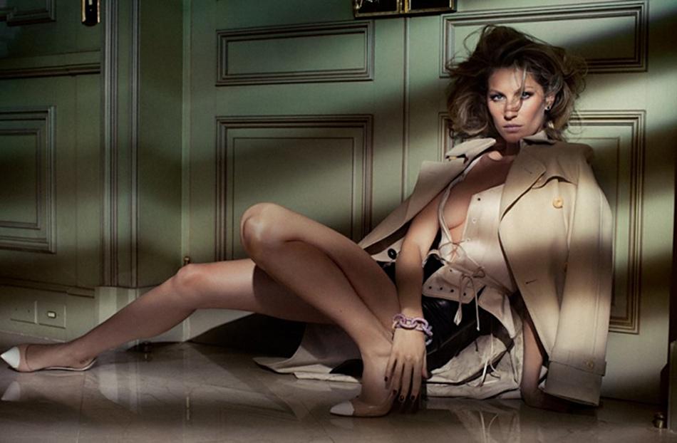 Crush on Gisele - Gisele in Vogue Brazil, unsharp