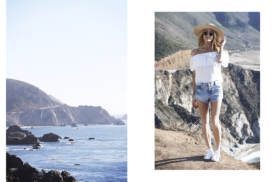 Roadtripping Big Sur - Collage 1