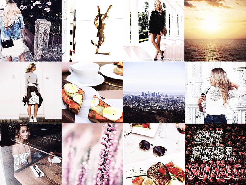 Life via Instagram - Collage 1, 2